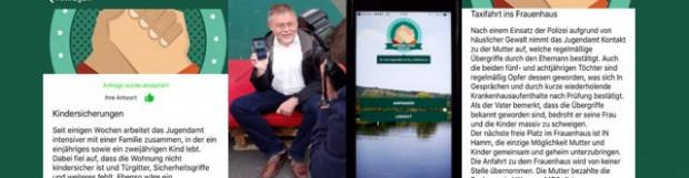 """22. Juni: """"Handshake-App"""" für die sozialen Dienste in Essen"""