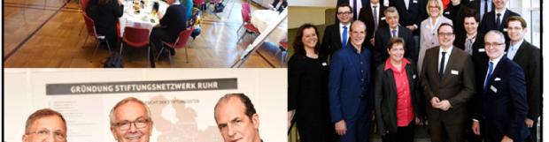 Gründung des Stiftungnetzwerkes Ruhr