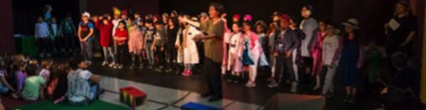 """Projektbericht Theaterklasse Wiehagenschule """"Unsere kleine Gedichte-Show"""""""