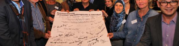 Förderzusage zur Erarbeitung einer Präventions- und Bildungskette für die Markscheideschule und den Stadtteil Altendorf